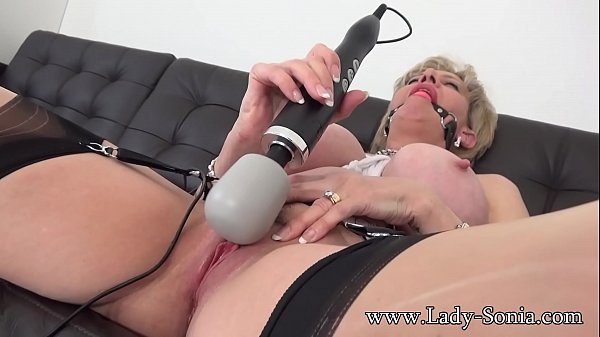 Tied up, Sonia, Tied squirt, Milf pussy, Milf squirt, Squirt milf