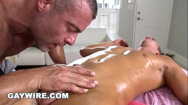 Daddy, Muscles, Michaels, Daddy massage