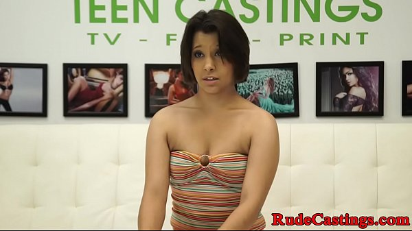 Gagging, Gag, Teen casting, Casting teen, Teen audition