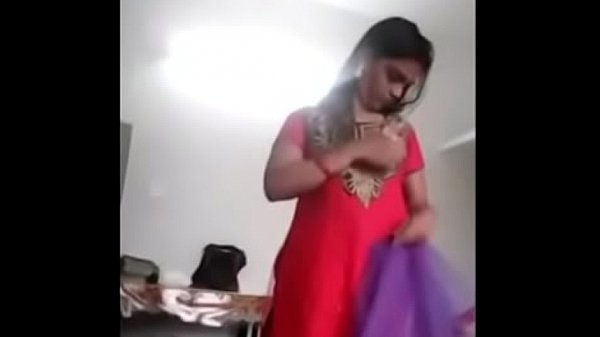 Indian girl, South indian, Changing, South, Dress change, Indian dress change