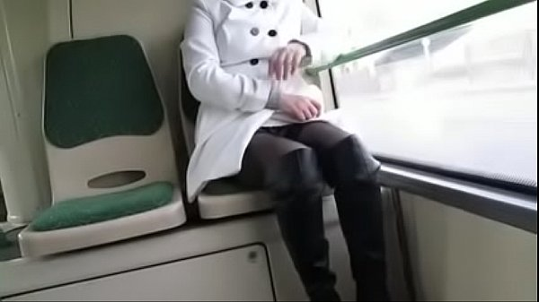 Boots, Best mom, Stocking mom, Stockings mom, On bus, Mom stockings