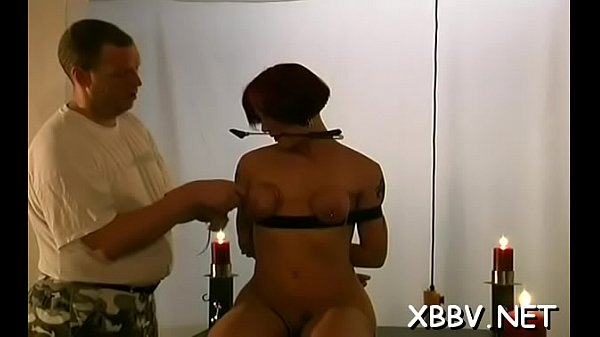 Bondage, Tied, Breasts, Stand up, Tie up, Standing up