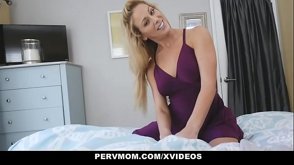 Horny mom, Sniffing panties