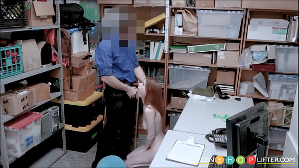 Blackmail, Shoplifter, Security, Blackmailed, Blackmailing, Red head