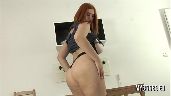 Oil, Huge tit, Faye, Fay, Oiled pussy