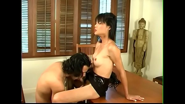 Leather, Shemale girl, Stockings anal, Shemale on girl, Shemale cum, Anal stockings