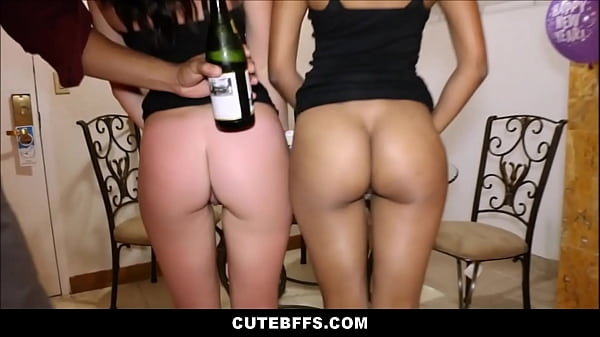 Friends, Best friend, Best fuck, New year, Lucky guys, Fucking friend