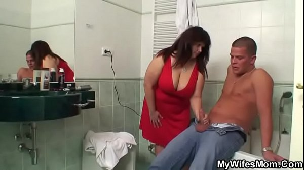 Mom and son, Bathroom, Son and mom, Busty mom, Mom in law, Mom fucks son