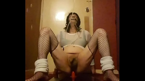 Crossdresser, Piss drink, Drink piss, Ride dildo, Drinking piss, Sissy crossdresser