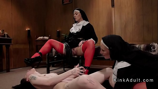 Nuns, Nun anal, Dominate, Dominating, Brunettes, Nuns anal