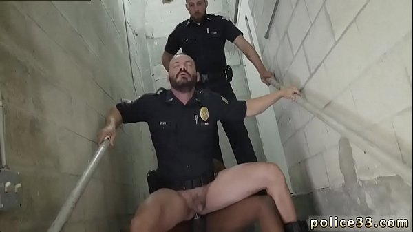 Police, Cops, Gay black, Police fuck, Gay white, Big white