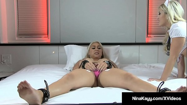 Nurse, Helpless, Nurses, Pussy rubbing, Bounded