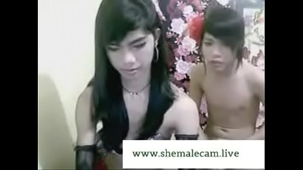 Asian shemale, Two shemale