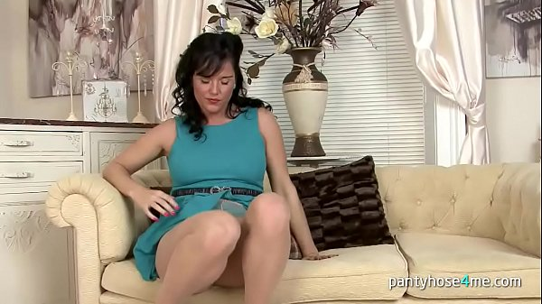 Pantyhose, Pussy rubbing, Chick, Pantyhose pussy