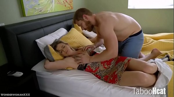 Force, Step mother, Mother son, Step son, Cory chase, Sleeping mother
