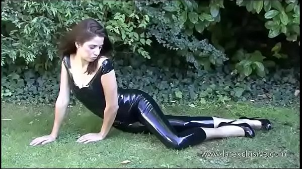 Latex, Anastasia, Outdoors, Solo babes, Posing, Solo babe