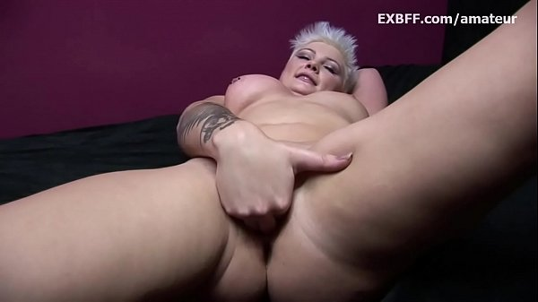 Short hair, Toys, Short, Huge toy, Huge pussy, Chubby pussy