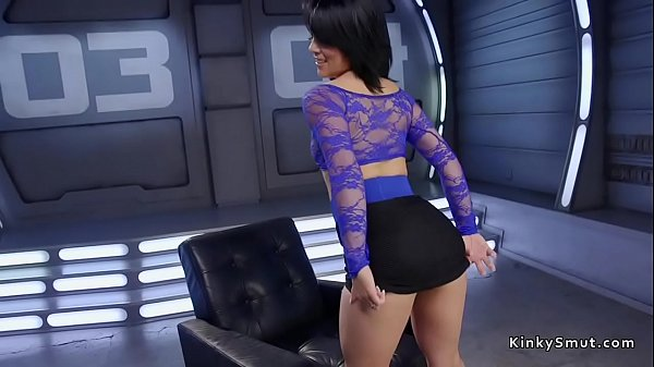 Machine, Big ass brunette