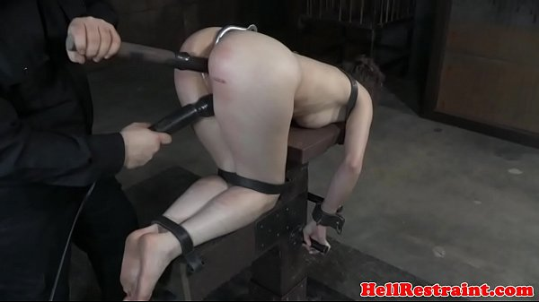 Caning, Caned, Restrained